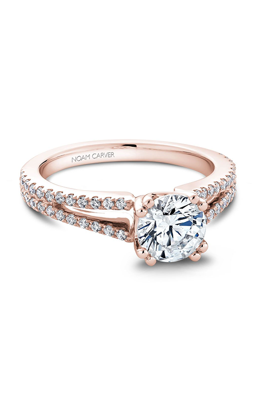 Noam Carver Classic Engagement ring B001-03RA product image
