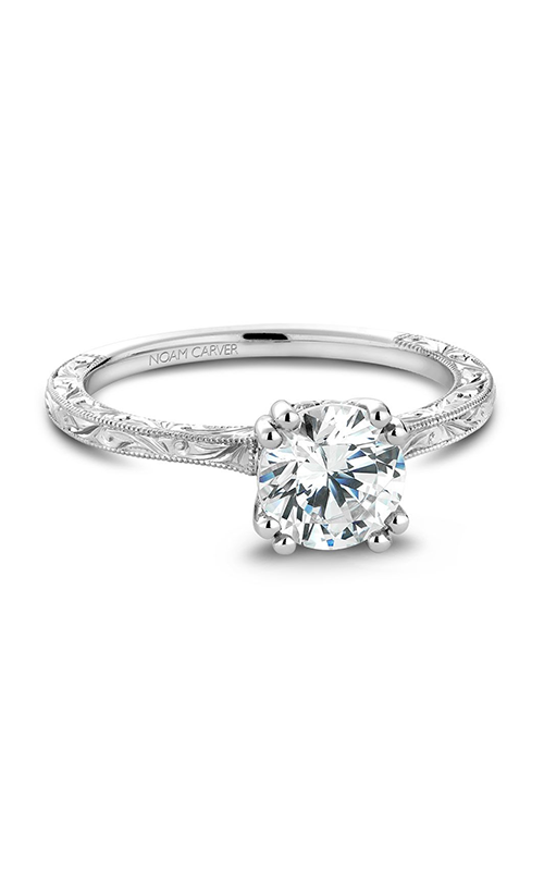 Noam Carver Vintage Engagement ring B004-02WME product image