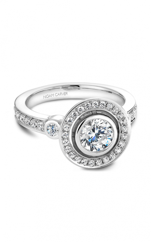 244eeb0abeb5d Noam Carver Vintage Engagement Ring B010-01A product image Click to Enlarge  the Image