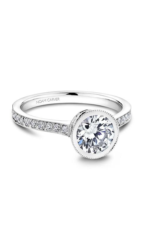 Noam Carver Vintage Engagement ring B025-02A product image