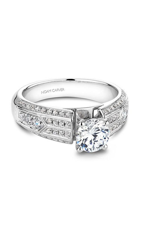 Noam Carver Vintage Engagement ring B049-01WM product image