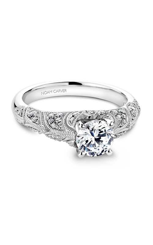 Noam Carver Vintage Engagement ring B056-01WM product image