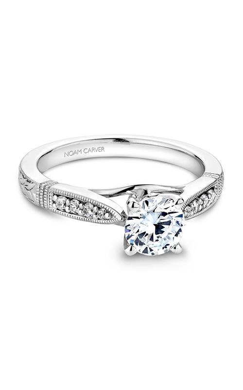 Noam Carver Vintage Engagement ring B064-01WM product image