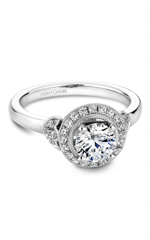 Noam Carver Engagement ring Floral B072-01WM product image