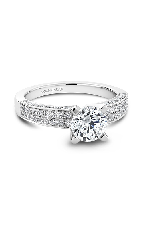 Noam Carver Classic Engagement ring B003-02A product image