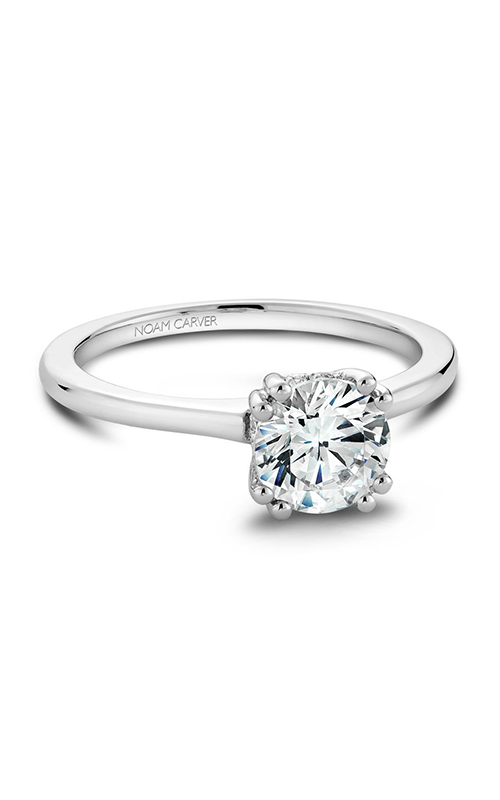 Noam Carver Classic Engagement ring B004-04A product image