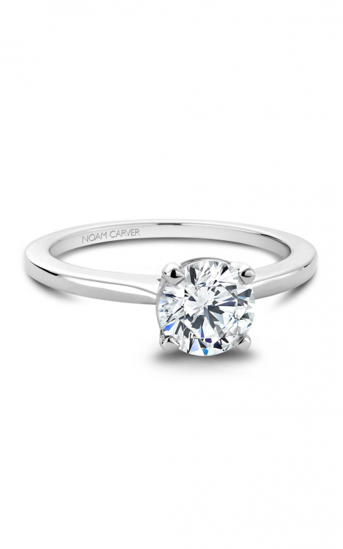 Noam Carver Solitaire Engagement Ring B018-01WM product image