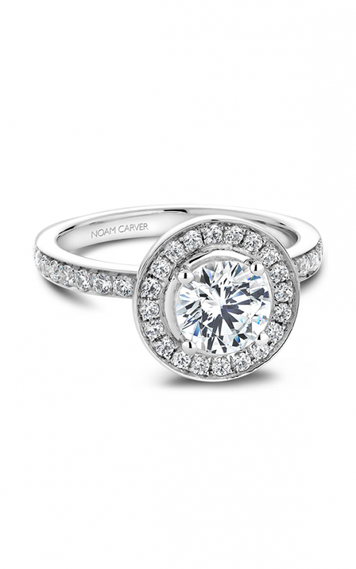 Noam Carver Classic Engagement ring B023-01A product image