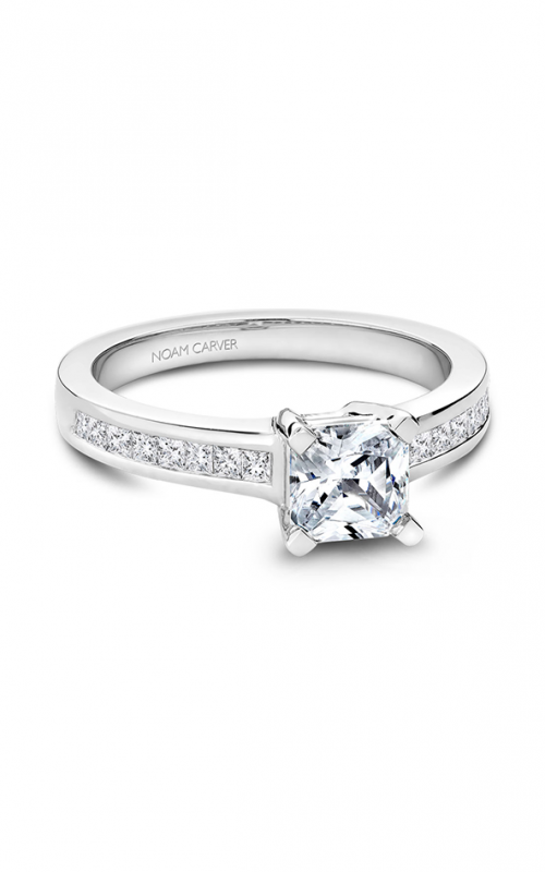 Noam Carver Classic Engagement ring B031-02A product image