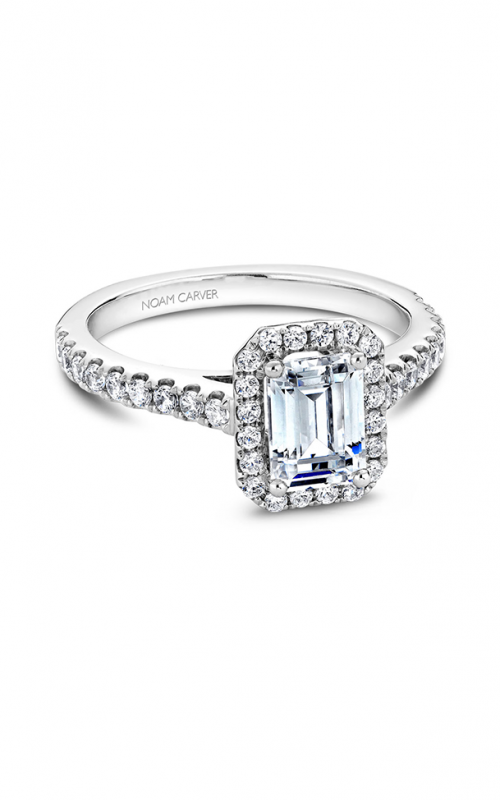 Noam Carver Classic Engagement ring B034-01A product image