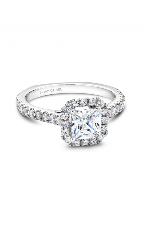Noam Carver Classic Engagement ring B034-02A product image