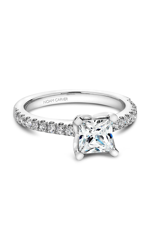 Noam Carver Classic Engagement ring B038-01A product image