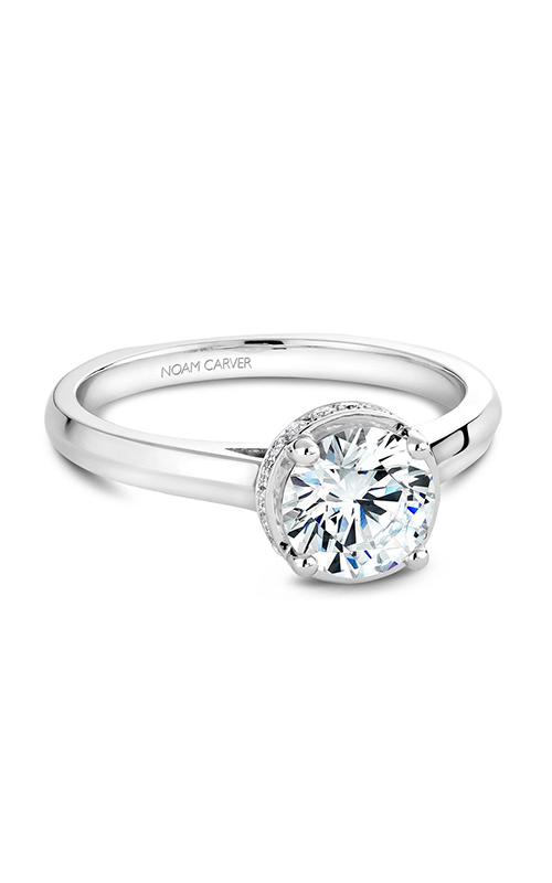 Noam Carver Solitaire Engagement ring B040-01WM product image