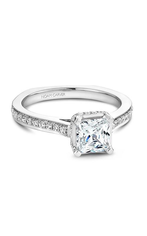 Noam Carver Engagement ring Solitaire B041-02WM product image