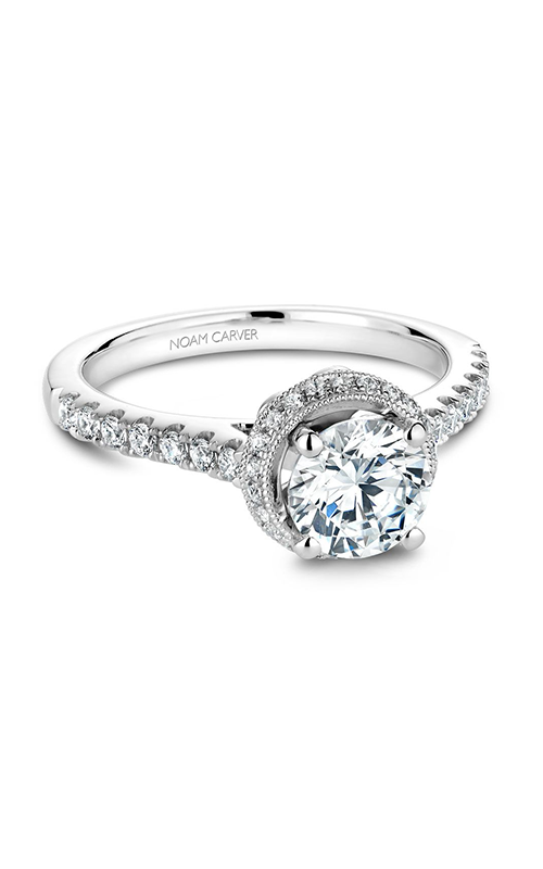 Noam Carver Classic Engagement ring B082-01A product image