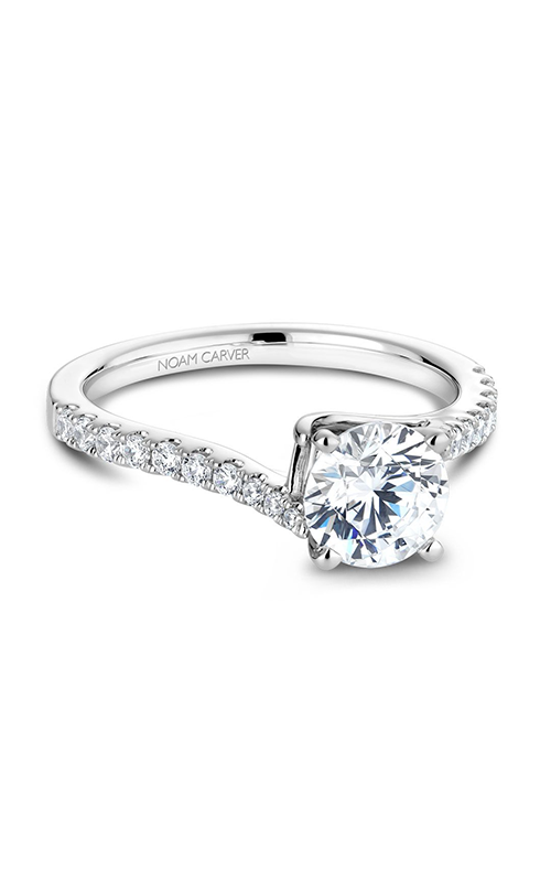 Noam Carver Solitaire Engagement Ring B089-01WM product image