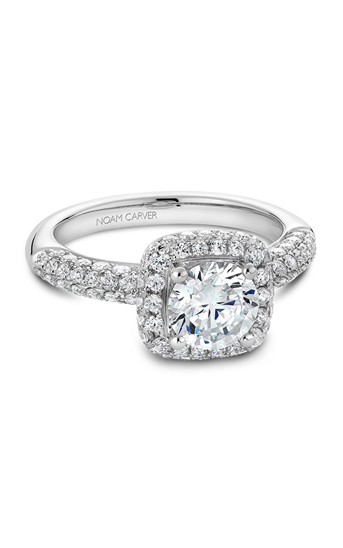 Noam Carver Modern Engagement ring B100-06A product image