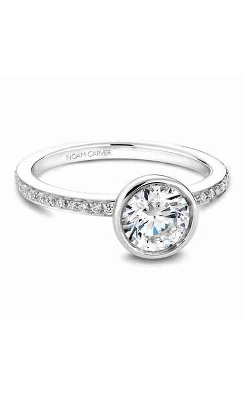 Noam Carver Modern Engagement ring B095-02A product image