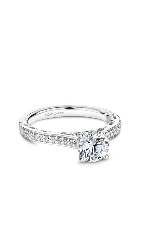 Noam Carver Solitaire Engagement Ring B161-02WM product image