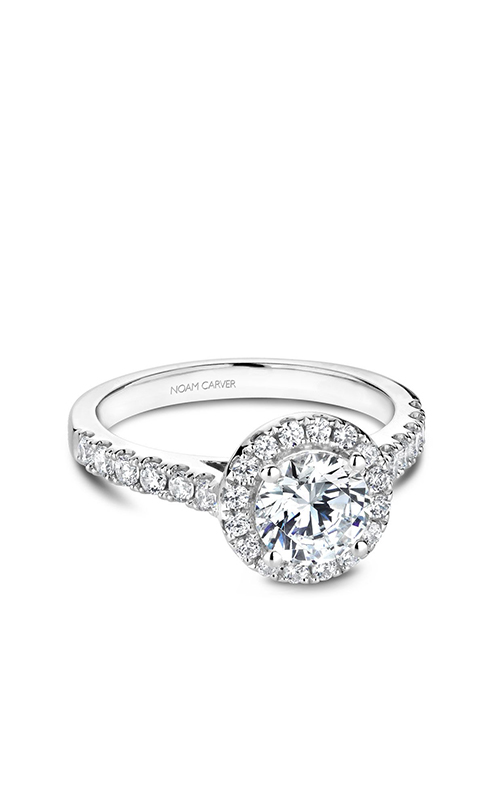 Noam Carver Halo Engagement ring B168-01WM product image