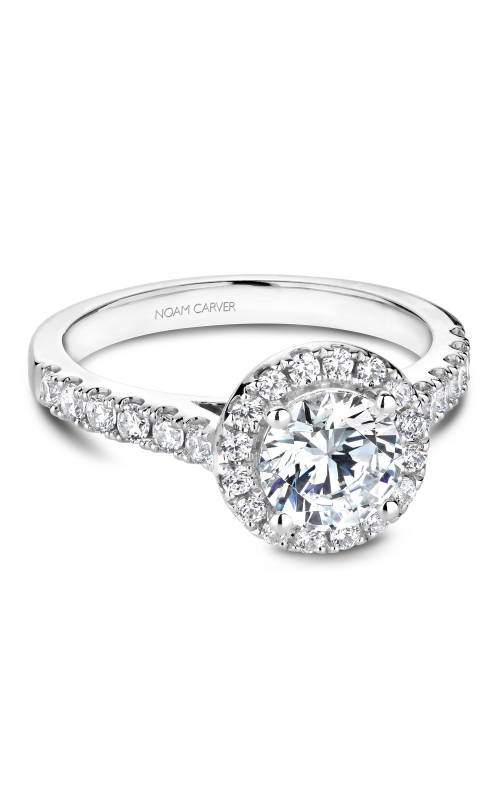 Noam Carver Engagement ring Halo B168-01WM product image