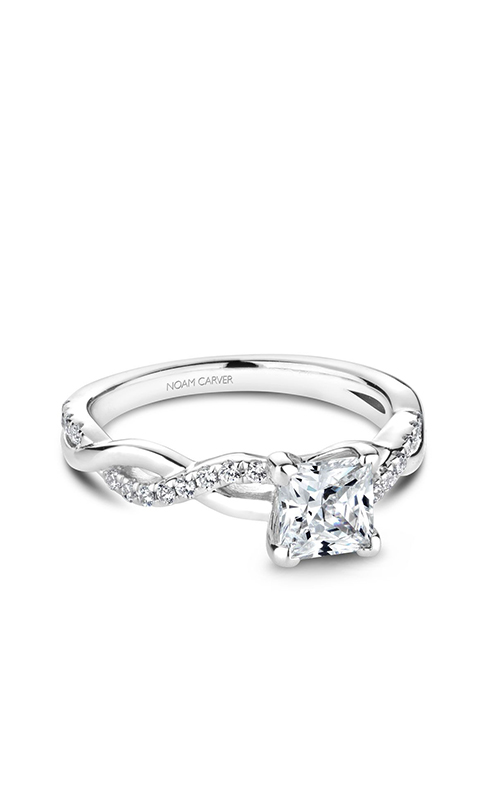 Noam Carver Twist Band Engagement Ring B185-01WM product image