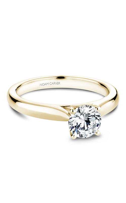 Noam Carver Solitaire Engagement Ring B190-01YM product image
