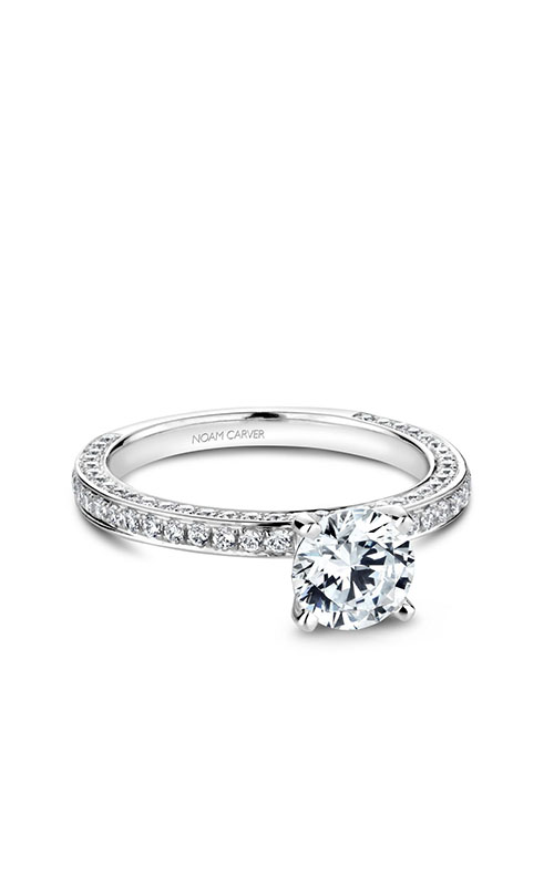 Noam Carver Solitaire Engagement ring R048-01WM product image