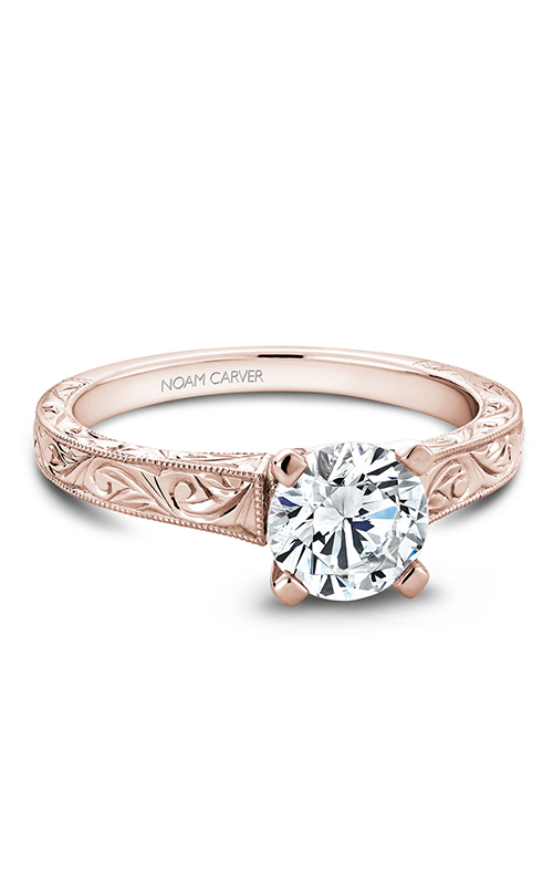 Noam Carver Solitaire Engagement ring B006-03RME product image