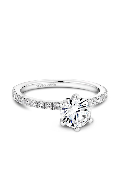 Noam Carver Solitaire Engagement ring B022-02WM product image