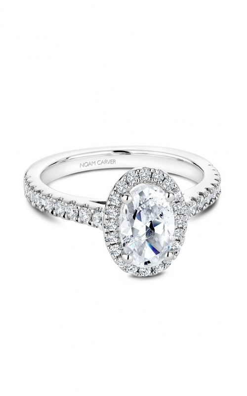Noam Carver Fancy Engagement ring B034-04A product image