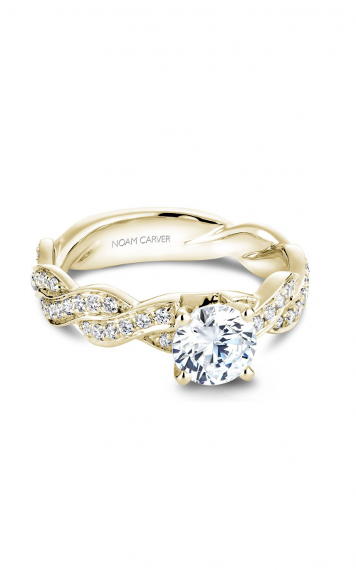 Noam Carver Twist Band Engagement ring B059-01YM product image
