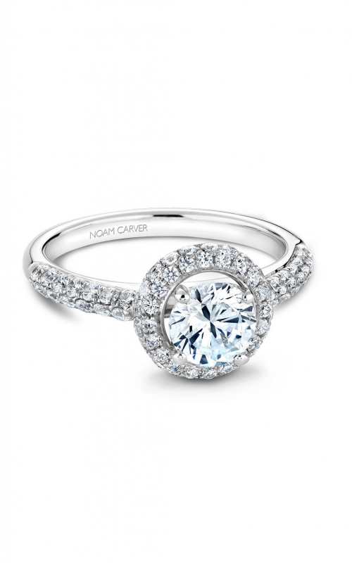 Noam Carver Modern Engagement ring B071-01A product image