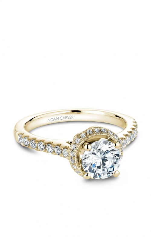 Noam Carver Modern Engagement ring B082-01YA product image