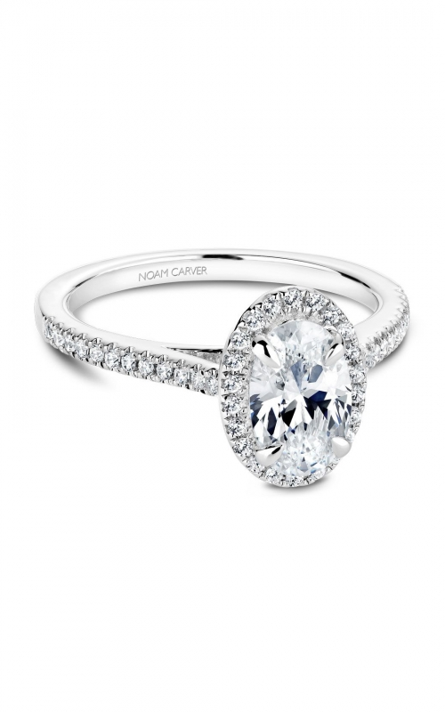 Noam Carver Fancy Engagement ring B094-03A product image