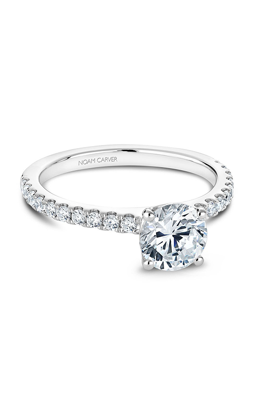 Noam Carver Solitaire Engagement ring B101-01WM product image