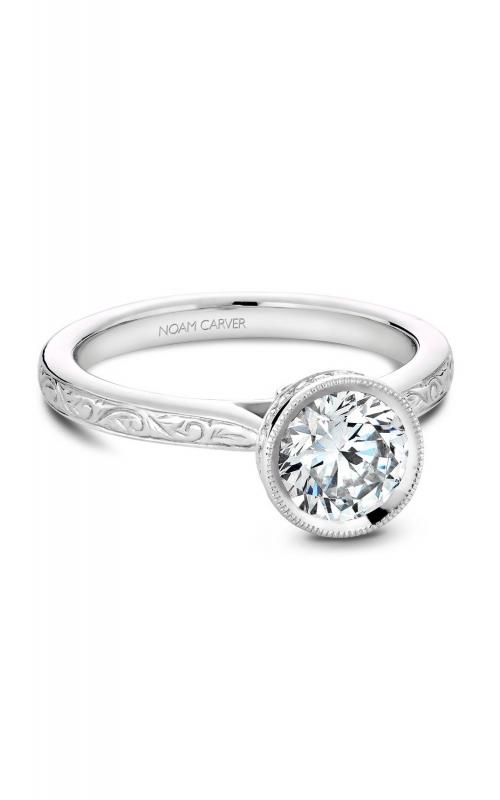Noam Carver Classic Engagement ring B140-12EA product image