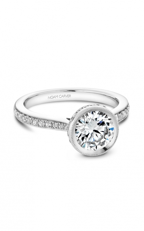 Noam Carver Classic Engagement ring B141-12A product image
