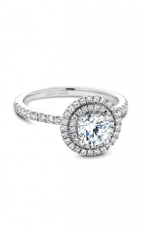Noam Carver Engagement ring Halo B142-07WM product image