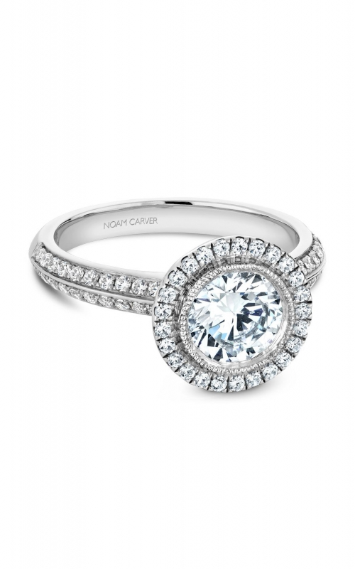Noam Carver Classic Engagement ring B144-15A product image