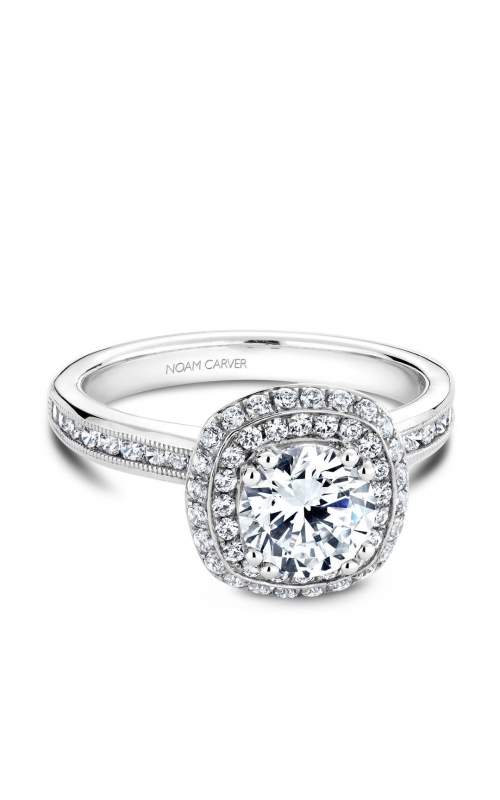 Noam Carver Classic Engagement ring B145-10A product image