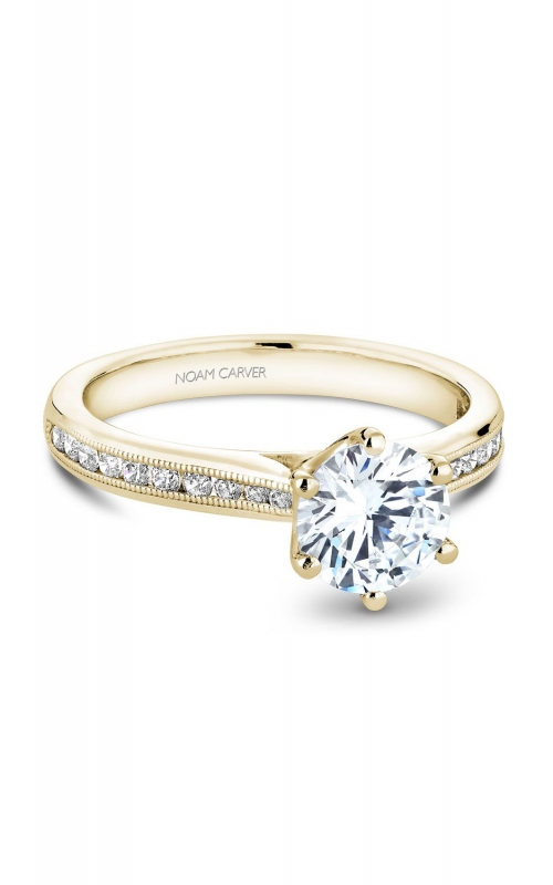 Noam Carver Classic Engagement ring B145-17YA product image