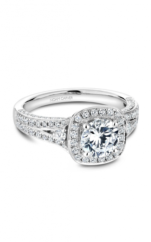 Noam Carver Halo Engagement ring B172-01WM product image