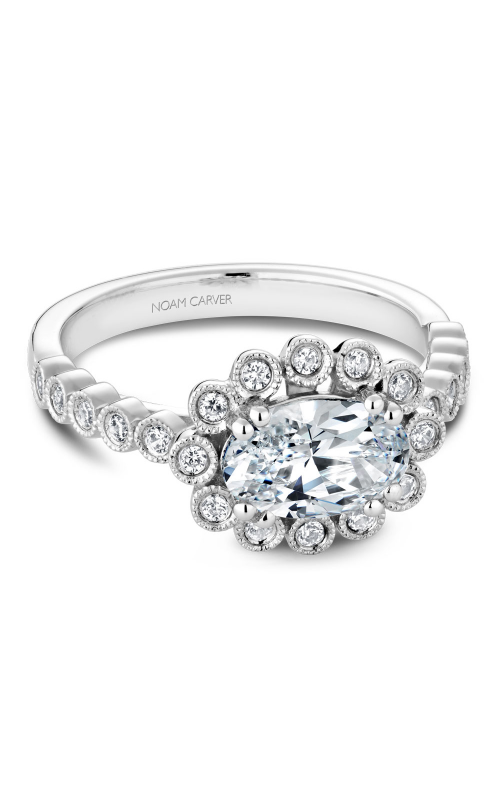 Noam Carver Engagement ring Floral B221-01WM product image