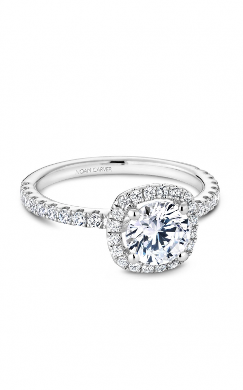 Noam Carver Halo Engagement Ring B223-01WM product image