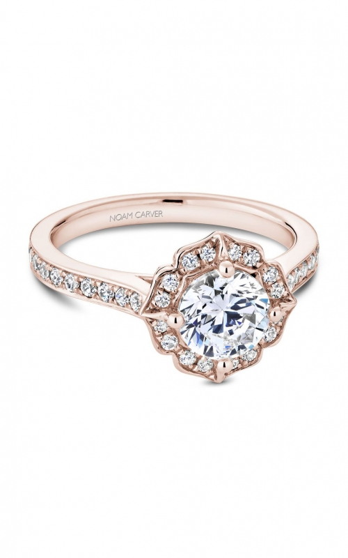 Noam Carver Floral Engagement ring R031-01RA product image