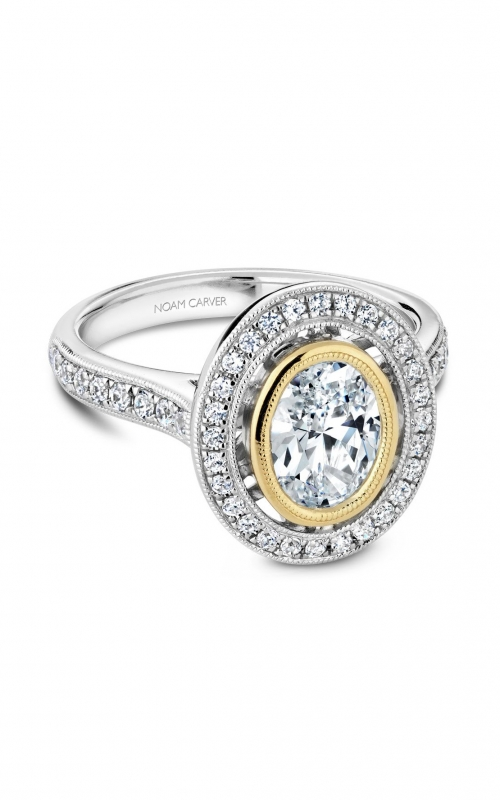 Noam Carver Fancy Engagement ring R040-01WYA product image