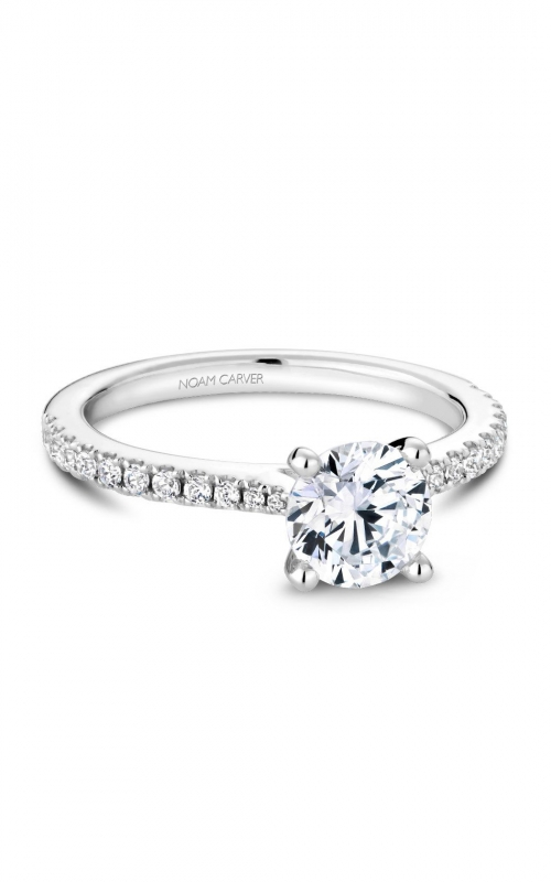 Noam Carver Classic Engagement ring R046-01A product image