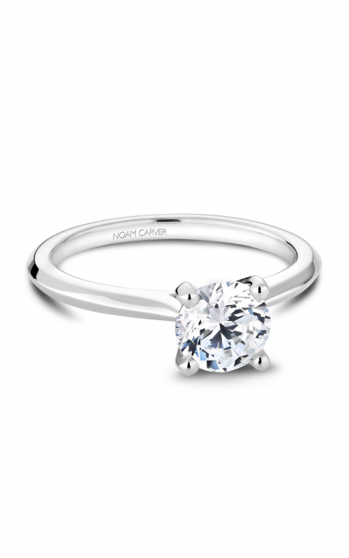 Noam Carver Solitaire Engagement ring R047-01WM product image