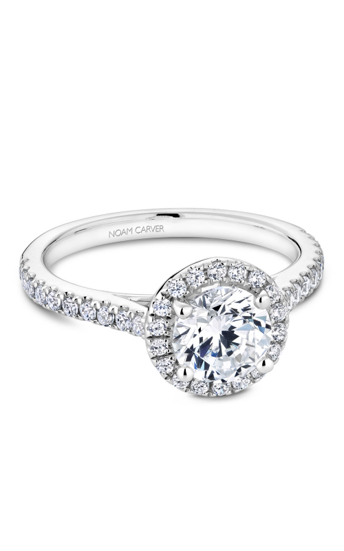 Noam Carver Halo Engagement ring R050-01WM product image